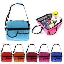 Insulated Thermal Cooler Shoulder Travel Picnic Lunch Bag Tote Baby Bottle Bags