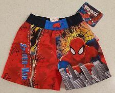 Boys Spiderman Board Shorts / Boardies / Shorts / Swimmers / Swim Wear - NWT
