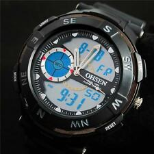 OHSEN Men's Digital Analog Waterproof Alarm Date Sport Quartz Watch WH