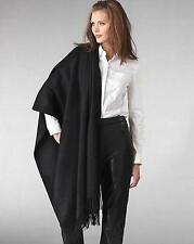 NEW Black Women's Shawl Scarf Stole Wrap Throw Silk Cashmere Pashmina
