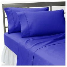 Egyptian Blue Solid US Bedding Collection 1000 TC 100%Egyptian Cotton Full Size