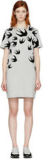 McQ Alexander McQueen SWALLOW PRINT T-shirt Dress Tee Tank Top