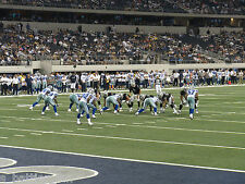 2 OF 4 DALLAS COWBOYS VS DETROIT LIONS TIX.VERY FRONT ROW...NATIONAL TV.MNF.