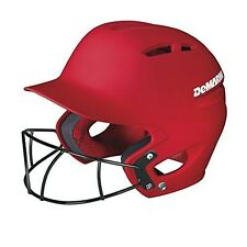 DeMarini Paradox Fitted Pro Batting Helmet with Fastpitch Softball Mask Medium (