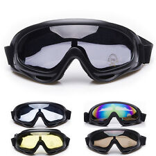 Off-Road Motocross Racing ATV Dirt Bike Motorcycle Goggles Eyewear Colorful Lens
