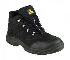 Amblers FS151 Safety Boots Black With Steel Toe Cap & Midsole
