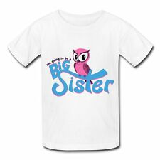 I'm going to be a Big Sister - Owl Kids' T-Shirt by Spreadshirt