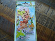 DISNEY CHIPBOARD PIECES SCRAPBOOK EMBELLISHMENTS TOY STORY TINKER BELL FAIRY CAR