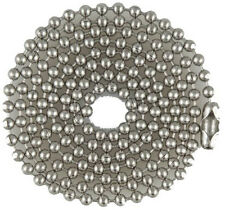 Stainless Steel Ball Chains for Military Dog Tags, Bag of 100