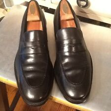 Cole Haan Nike Air Men's black Leather Penny Loafer Shoes-sz 10..5M