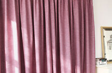 Violet purple grommets top custom blackout curtains (all size)