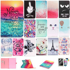 Cute Patterns Design Tablet Case for Samsung Galaxy Tab A 10.1 T580 Wallet Cover