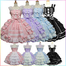 Cosplay Costume Angel Love Chiffon Dress Lolita Gothic Princess Maid Outfit