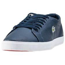 Lacoste Marcel Lcr3 Mens Trainers Navy New Shoes