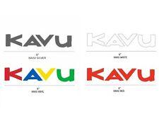KAVU Sticker Vinyl Decal *Car Truck Yeti Water Bottle Wall Rack Van* Choose ONE