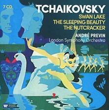 Tchaikovsky:ballets (swan Lake Nutcra - Andre Previn Compact Disc