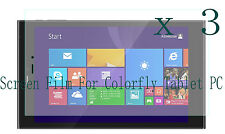 3 Glossy Matte LCD Screen Protector Guard Film Cover Skin For Colorfly Tablet PC