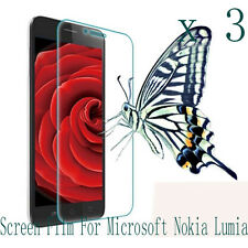 3 Glossy Matte Screen Protector Film  Skin Shell FOR Microsoft Nokia Asha Phone