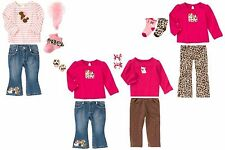 NWT Gymboree Parisian Chic 3 & 4 piece Sets U-Pick Sizes: 5T, 5