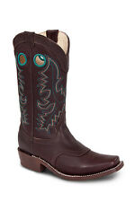 Womens Brown Cowgirl Western Leather Rodeo Boots REDHAWK 5707 Size 5-10 (B, M)
