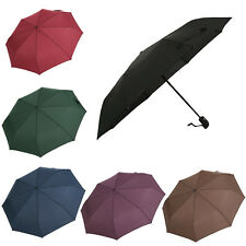 Automatic Open&Close Folding Compact Super Windproof Anti-UV Rain Sun Umbrella
