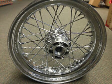 Harley Davidson Rear Chrome Laced Wheel for Dyna FXDL Models   40979-08A