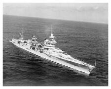 WWII US Navy USS Indianapolis CA-35 Starboard Bow 1939 Silver Halide Photo