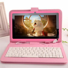 """7"""" inch Android 4.4 Quad Core Tablet PC MID 8GB Dual Camera With Keyboard Bundle"""