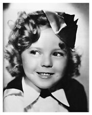 Movie Star Shirley Temple Hollywood Child Actress Silver Halide Photo Free Ship