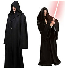 Halloween Star Wars Jedi Knight Adult Robe Costume Cosplay Robe Cape Cloak NEW