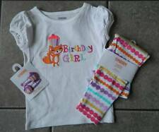 Outfit Gymboree,Birthday Girl,leggings,top,barrettes,sz.18,24M,2T,4T,NWT