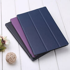 For Amazon Kindle Fire HD 10 Tablet Slim Magnetic Leather Folio Stand Case Cover