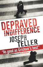 Depraved Indifference, Good Condition Book, Teller, Joseph, ISBN