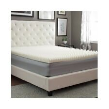 Memory Foam Mattress Topper Covers Pad Comforter Bedding Pad Back Support Comfy