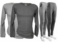 MENS Thermal Workers Underwear Set - TOP and BOTTOM - mico-FLEECE linned M - 3XL