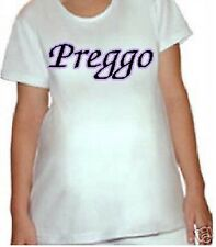 Preggo funny maternity shirts announce pregnancy maternity clothes maternity top