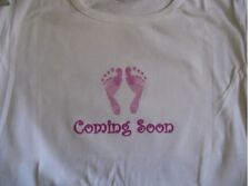 Coming soon maternity shirt pregnancy announcement maternity top tshirt clothes