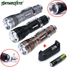 5000Lumen CREE 3 Modes Q5 LED Mini Flashlight 18650 Rechargable Torch Light Lamp