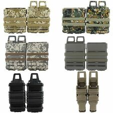 Paintball Airsoft Tactical Rifle MOLLE Ammo Fast Mag Pouch Holster MP5/MP7/M14