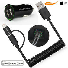 2-IN-1 Design For Android Samsung Apple Original Lightning Cable+Micro USB 2.0