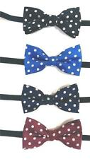 Young Boy's Polyester Bow Ties - A Variety of Styles and Colors To Choose