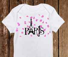Adorable Paris Onesie - Cute Baby Girl clothes- Newborn Custom Eiffel Tower