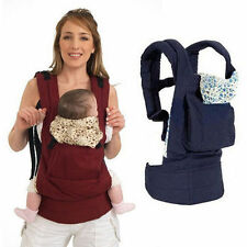 Adjustable Baby Infant Carrier Sling Newborn Pouch Wrap Rider Comfort Backpack