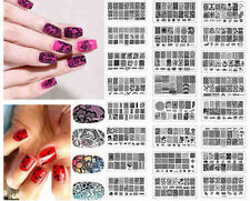 Nail Art Image Stamp Stamping Plates Manicure Template DIY Tool Stencil