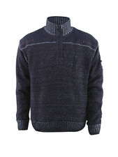 Mascot Naxos Knitted Jumper Workwear Sweatshirts Blue Grey Snickers Direct