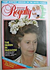 ROYALTY MONTHLY MAGAZINE Vol 2 No 6 1982 Queen South Pacific Peter Zara Phillips
