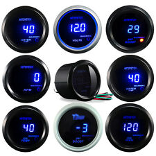 "2"" 52mm DIGITAL BOOST/WATER TEMP/OIL TEMP/OIL PRESSURE/TACHO Meter Car GAUGE"