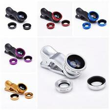 Hot Sale 3 in 1 Camera Set Fish Eye, Wide Angle, Macro Lens For IPhone Accessor