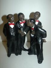 Parastone Quartet Enesco All that Jazz Figures Black Americana Art