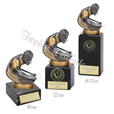 "Snooker Pool Trophy Award 3 Sizes on Marble Bases"" FREE ENGRAVING"""